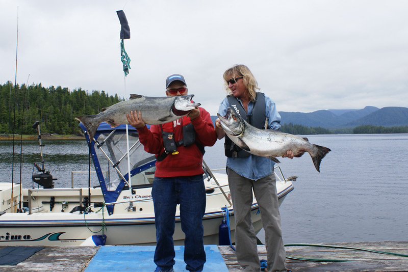 Captain Ron and Amy Raden from Big Sky Montana catch a couple of big fish!